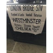 Tea towel London destinations