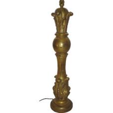 Antique Gilded Lampbase