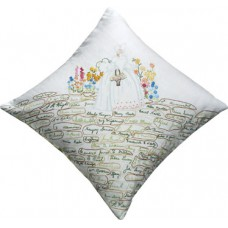Vintage Hand-embroidered cushion