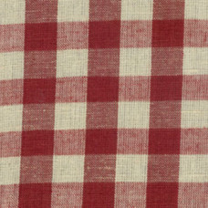 Brick Red Gingham