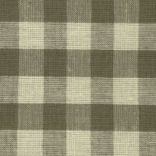 Dark Taupe Gingham Fabric