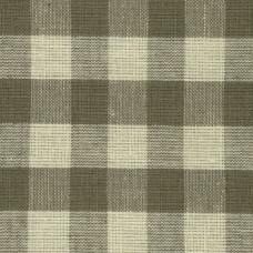 Dark Taupe Gingham Fabric