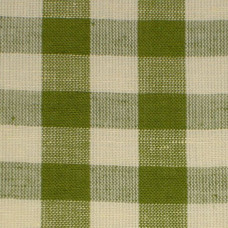 Leaf Green Gingham Fabric