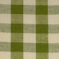 Leaf Green Gingham Fabric