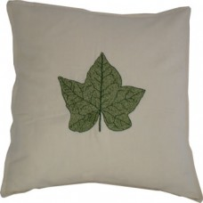 Ivy Leaf, hand-embroidered