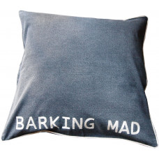 BARKING MAD Hand Embroidered Dog Bed