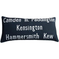 Camden Tn. Embroidered Bus Route Cushion