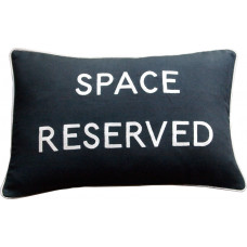 Space Reserved Embroidered Cushion