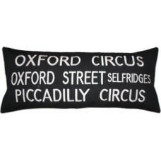 Oxford Circus London Bus Destination Cushion